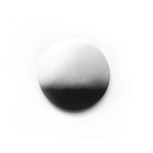 Minimalistischer, schwarz-weisser Design Magnet aus Bonn