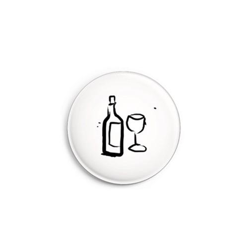 Daniel Bandholtz Button Wein - Design-Accessoires aus Köln / Bonn