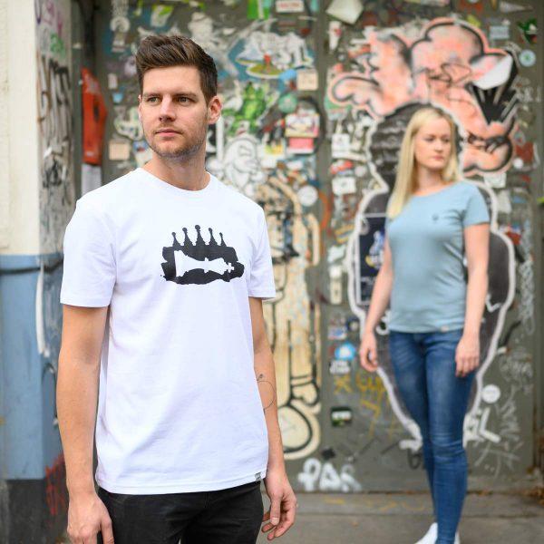 Daniel Bandholtz T-Shirt Bonn Schach: Fair, Bio und handbedruckt