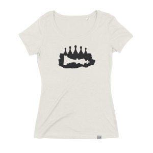 Fallen King Frauen T-Shirt, Fair und Bio, von Daniel Bandholtz aus Bonn