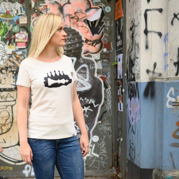 Daniel Bandholtz Bonn T-Shirt Frauen: Fair, Bio und handbedruckt