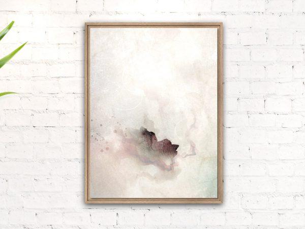Moderner Kunstdruck auf Leinwand mit Massivholzrahmen von Daniel Bandholtz aus Bonn