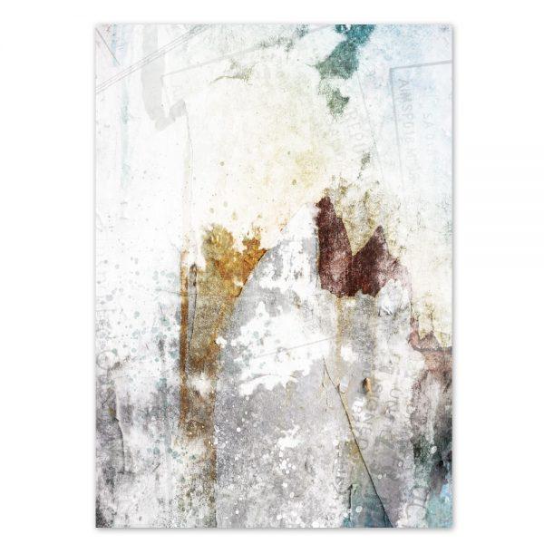 Daniel Bandholtz Helle Abstrakte Kunst Postkarte