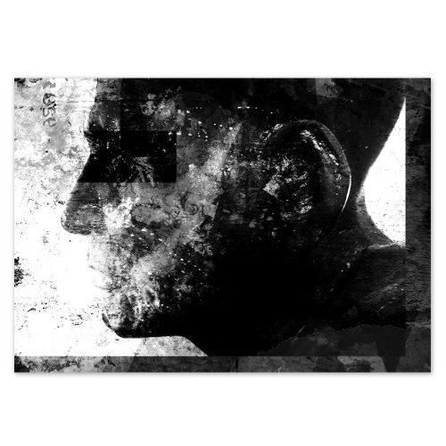 Daniel Bandholtz Old Man Postkarte - Kunst und Design aus Bonn Köln