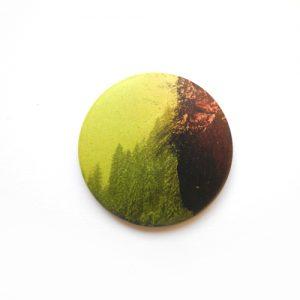 Grün-roter Designer Magnet: Design-Accessoires von Daniel Bandholtz, Bonn