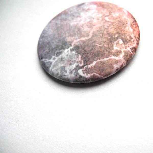 Abstraktes Stein Muster Magnet aus Bonn von Daniel Bandholtz