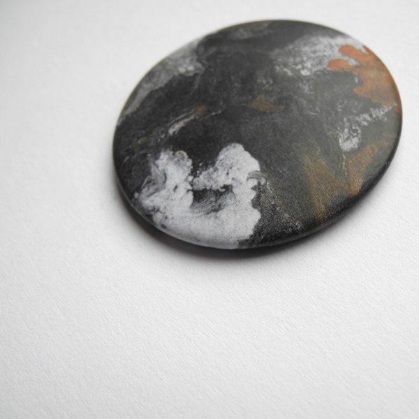 Abstrakter Kunst Magnet aus Bonn von Daniel Bandholtz