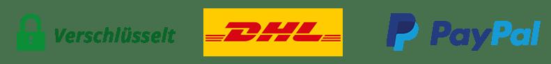 Verschluesselt DHL Paypal