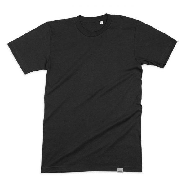 Blanko T-Shirt für Herren - schwarz