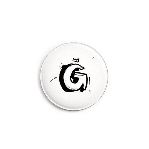 Buchstabe G Graffiti Button von Daniel Bandholtz