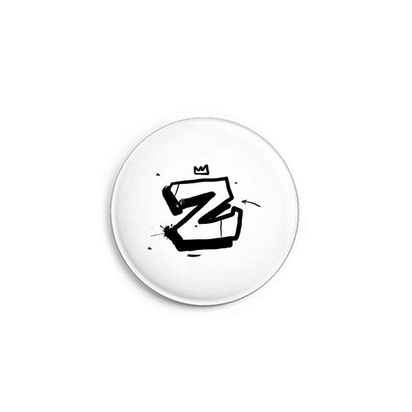 Buchstabe Z Graffiti Button von Daniel Bandholtz