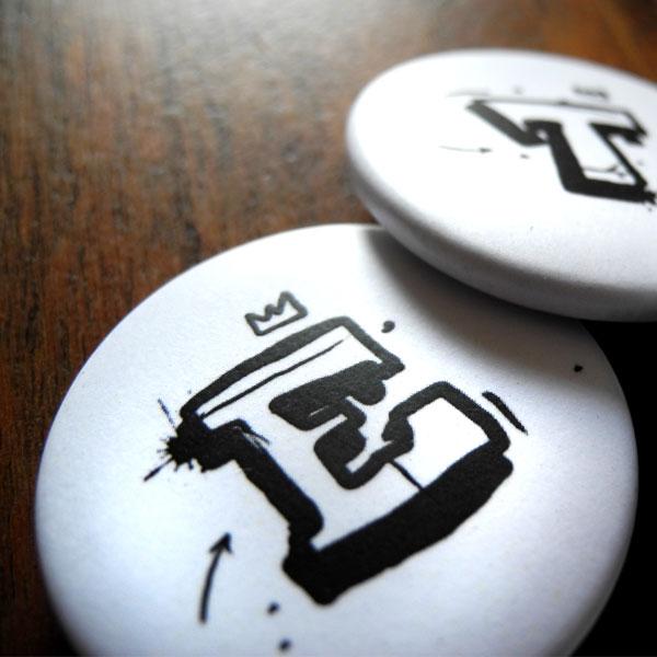 Buchstabe Button von Daniel Bandholtz - Detail 2