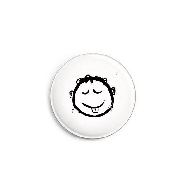 Smile Button von Daniel Bandholtz