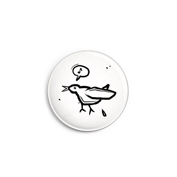 Vogel Button von Daniel Bandholtz